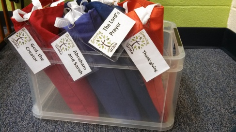 Story bags for the Pre-K Crowd