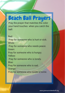 Beach Ball Prayers