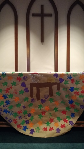 Holy Meals – Communion TablePainting