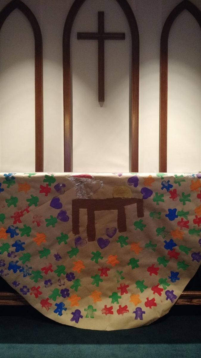 Holy Meals - Communion Table Painting