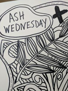 Ash Wednesday Coloring Page | Bless Each One